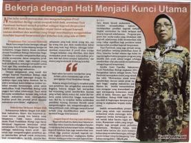Ibu Yuni, Kajur Berprestasi dari Jurusan Biologi