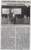 Arina Restian, dosen jurusan PGSD