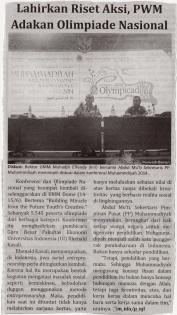 Rektor UMM dan Sekretaris PP Muhammadiyah